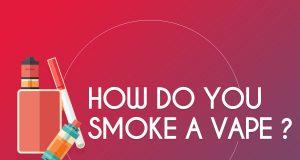 how do you smoke a vape ?